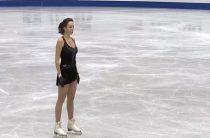 Россиянка Елизавета Туктамышева лидирует после короткой программы у женщин на 4-м этапе Гран-при в Японии