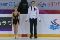 Российские фигуристы Бойкова/Козловский лидируют после короткой программы у пар на французском этапе Гран-при