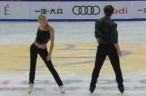 Александра Степанова и Иван Букин лидируют поле короткой программы у танцоров на 5-м этапе Гран-при в Москве