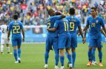Сборная Бразилии обыграла Коста-Рику в матче 2-го тура чемпионата мира 2018 по футболу
