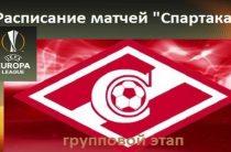 Московский «Спартак» примет «Рапид» в матче 5-го тура футбольной Лиги Европы 2018/2019