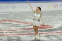 Российская фигуристка Алена Косторная выиграла короткую программу у девушек в финале юниорского Гран-при 2018