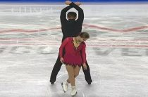 Анастасия Мишина и Александр Галлямов лидируют после короткой программы у пар (юниоры) в финале Кубка России по фигурному катанию