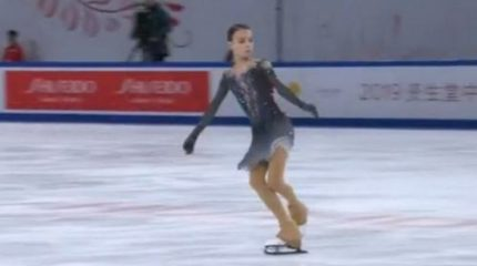 Анна Щербакова выиграла первый этап Кубка России по фигурному катанию в Сызрани