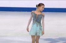 Российская фигуристка Анна Щербакова лидирует после короткой программы у девушек на юниорским чемпионате мира 2019