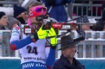 Анастасия Кузьмина выиграла женский спринт 17 января на 5-м этапе КМ по биатлону в Рупольдинге
