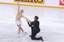 Бойкова и Козловский стали третьими на этапе Гран-при во Франции в соревнованиях спортивных пар