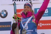 Чешская биатлонистка Маркета Давидова выиграла женский спринт на 6-м этапе КМ, Миронова-седьмая