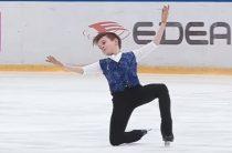 Даниил Самсонов стал победителем юниорского чемпионата России 2019 по фигурному катанию в Перми