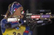 Итальянка Доротея Вирер выиграла женскую индивидуальную гонку 28 ноября на 1-м этапе КМ по биатлону 2020/2021 в Финляндии