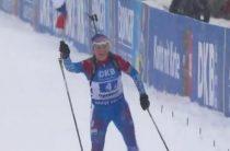 Женская сборная России выиграла эстафету на четвертом этапе КМ по биатлону 2018/2019 в Оберхофе