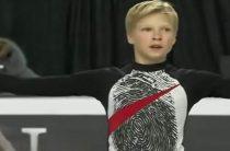 Канадский фигурист Стивен Гоголев стал самым молодым победителем юниорского финала Гран-при