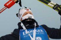 Норвежский биатлонист Йоханнес Бё завоевал золото в мужском спринте 29 ноября на этапе КМ в Контиолахти