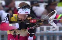 Сборная России по биатлону завоевала бронзу в мужской эстафете 8 февраля на седьмом этапе КМ в Канаде