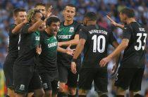 «Краснодар» сыграет с «Олимпиакосом» в раунде плей-офф футбольной Лиги чемпионов 2019/2020