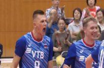 Волейболисты сборной России на тай-брейке обыграли Канаду в матче Кубка мира 2019