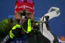 Немецкий биатлонист Арнд Пайффер выиграл индивидуальную гонку на чемпионате мира 2019 в Эстерсунде