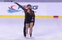 Танцевальные дуэты 6 декабря представят ритм-танец в финале Гран-при 2019 по фигурному катанию