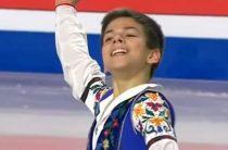 Россиянин Петр Гуменник идет третьим после короткой программы у юношей в финале юниорского Гран-при 2018