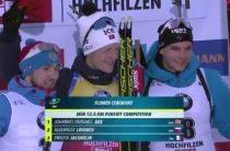 Александр Логинов завоевал серебро в мужской гонке преследования 14 декабря на втором этапе КМ по биатлону 2019/2020
