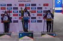 Ханна Эберг выиграла женский спринт 29 ноября на первом этапе КМ по биатлону 2020/2021 в Финляндии