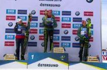 Немецкая биатлонистка Денизе Херрман выиграла женскую гонку преследования на ЧМ 2019 в Эстерсунде