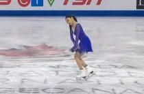 Японская фигуристка Рика Кихира выиграла короткую программу у женщин на чемпионате четырех континентов