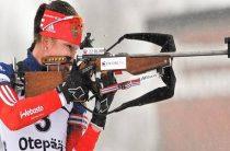 Екатерина Глазырина выиграла спринт 28 марта на чемпионате России по биатлону 2019 в Тюмени