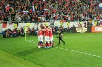 Сборная России по футболу обыграла сборную Казахстана в матче 6-го тура отборочного турнира ЧЕ 2020