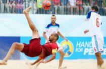 Объявлен состав сборной России по пляжному футболу на Европейские игры 2019 в Минске