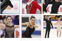 Сборная России занимает третье место после первого дня соревнований командного чемпионата мира 2019 по фигурному катанию