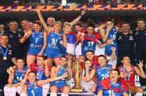 Волейболистки сборной Сербии, обыграв в финале Турцию, выиграли чемпионат Европы 2019. Итоговые результаты
