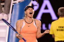 Российская теннисистка Мария Шарапова вышла во второй круг Australian Open 2019