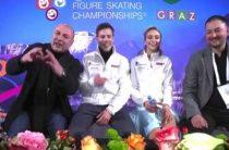 Синицина и Кацалапов вторые после ритм-танца на чемпионате Европы 2020 по фигурному катанию в Граце: результаты