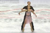 Российские фигуристы заняли весь пьедестал почета в соревнованиях танцоров в финале юниорского Гран-при 2018