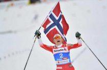 Норвежская лыжница Тереза Йохауг завоевала золото чемпионата мира 2019 в масс-старте 2 марта