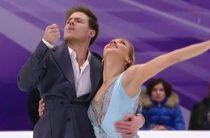 Виктория Синицина и Никита Кацалапов лидируют после ритм-танца на чемпионате России по фигурному катанию