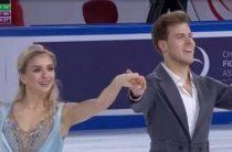 Российские фигуристы Синицина и Кацалапов лидируют после ритм-танца на 4-м этапе Гран-при 2019 в Китае