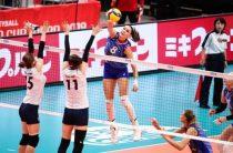 Сборная России-третья в турнирной таблице женского Кубка мира 2019 по волейболу после второго этапа