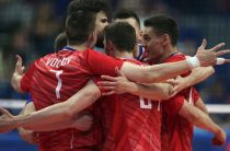 Российские волейболисты обыграли сборную Италии в матче Лиги наций 2019