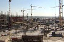 Строительство основного здания стадиона «Волгоград Арена», возводимого к ЧМ-2018 по футболу, завершено