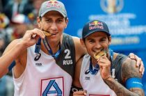 Россияне Вячеслав Красильников и Олег Стояновский выиграли чемпионат мира 2019 по пляжному волейболу
