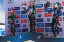 Немецкая биатлонистка Дениз Херрман стала победительницей женской гонки преследования 16 февраля на этапе КМ в США