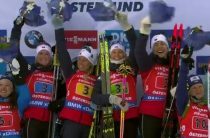 Норвегия выиграла женскую эстафету 16 марта на ЧМ 2019 по биатлону, Россия-пятая
